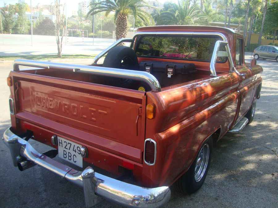 Chevrolet Apache 1961 Rear View  for Sale in Marbella Malaga Spain
