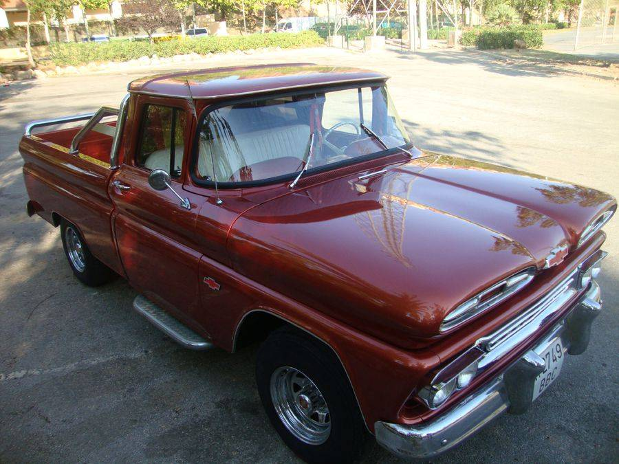 Chevrolet Apache 1961 for Sale in Marbella Malaga Spain Front