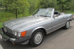 Mercedes 1987 560 SL Grey